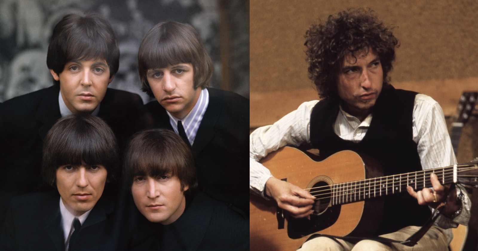 Beatles Bob Dylan