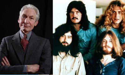 Charlie Watts Led Zeppelin