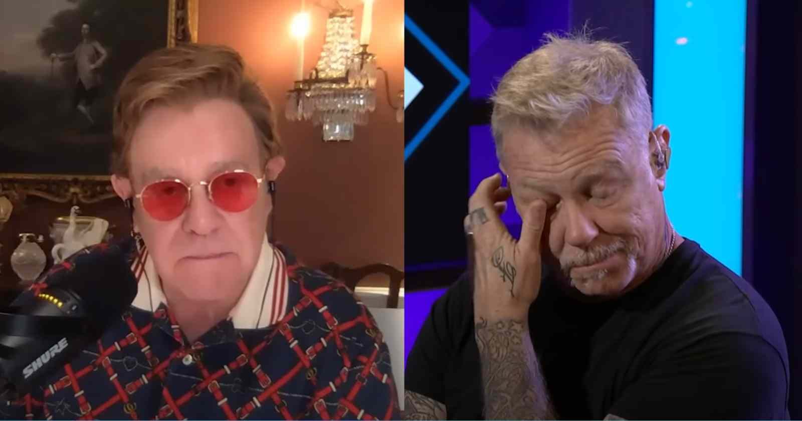 Elton John James Hetfield