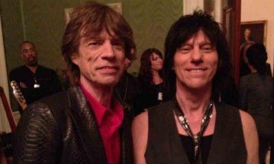 Jeff Beck Mick Jagger