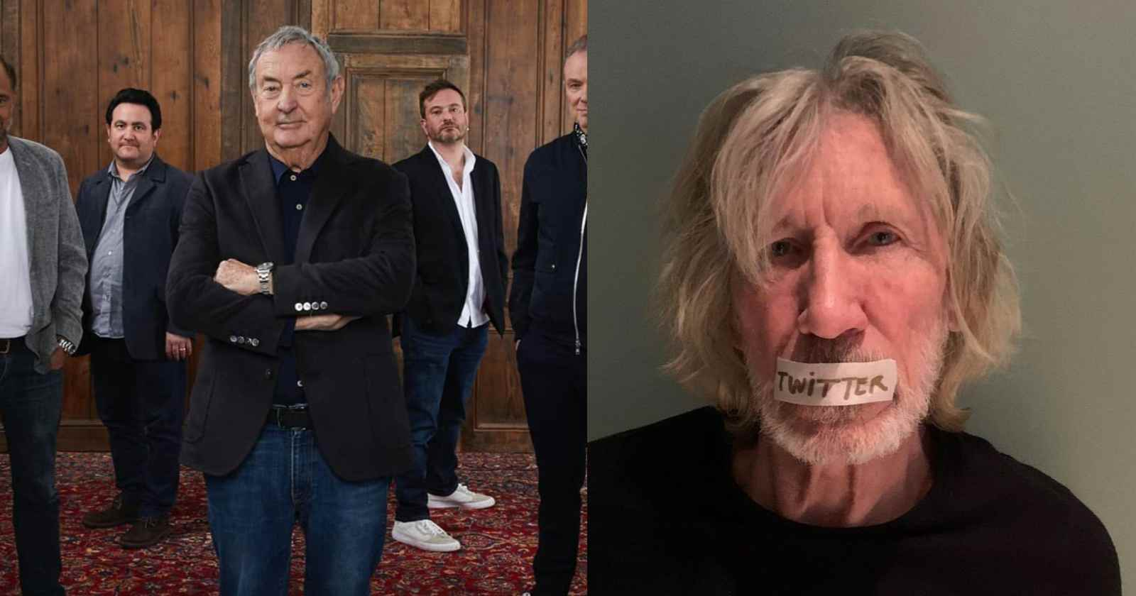 Nick Mason Roger Waters